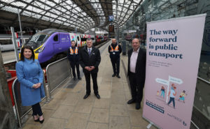 Campaign at Liverpool Lime Street Station